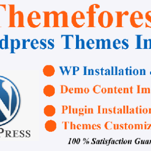 Fiverr WordPress Theme Installation Service