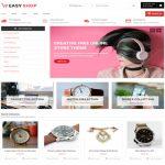 Easy Shop E-commerce Free WordPress Themes