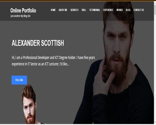 Online-Portfolio-WordPress-Free-Themes