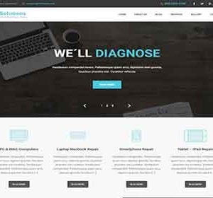 Free IT Solution WordPress Theme