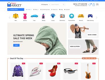 Supermarket-Free-eCommerce