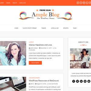 Free WordPress theme Ample Blog