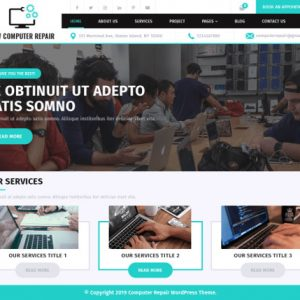 Computer Repair is a WP Free Theme