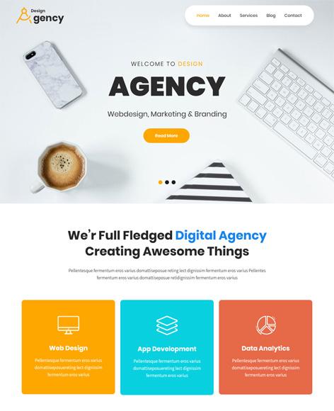 Design Agency Free WordPress Themes