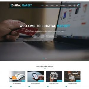 EDigital Market Multipurpose Free Theme