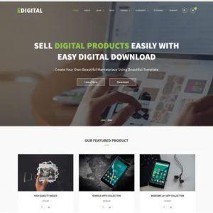 EDigital Multipurpose Free WordPress Theme