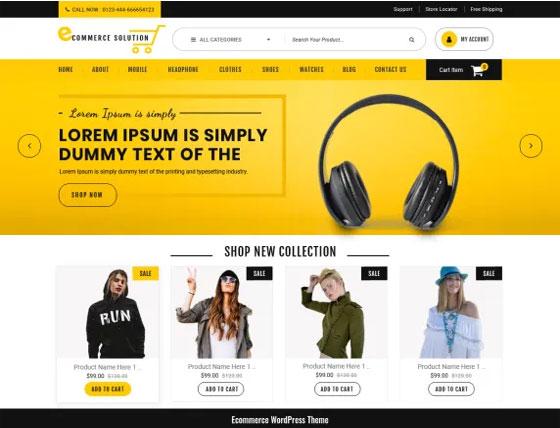 Ecommerce Solution Free WordPress