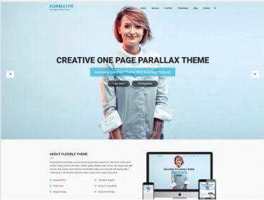 Flexible Lite One Page WordPress Free Theme