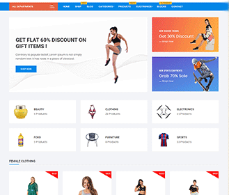 Free Online Shop Orchid Store WordPress Theme