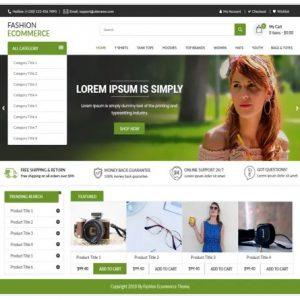 Free WordPress ThemeFashion Ecommerce