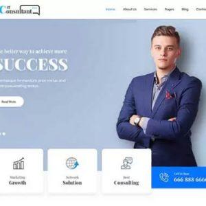 IT Consultant Lite Free WordPress Theme