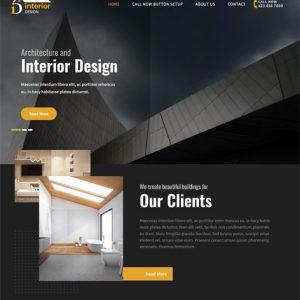 Interior Lite Free WordPress Themes