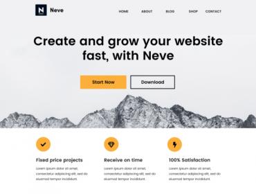 Neve Best Free WordPress Theme