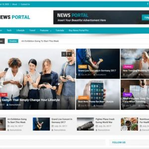 News Portal Free WordPress Theme