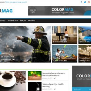 ColorMag Magazine News Free WordPress Themes