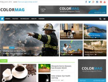 Responsive Magazine News Free WordPress Themes