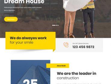 SKT Build Lite Free WordPress Theme