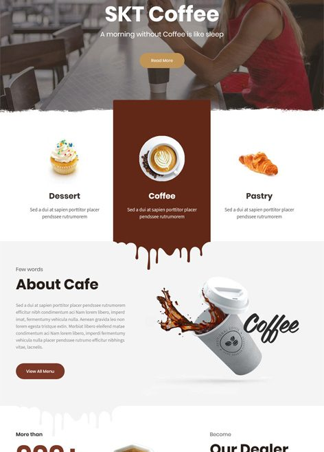 SKT Coffee Free WordPress Theme