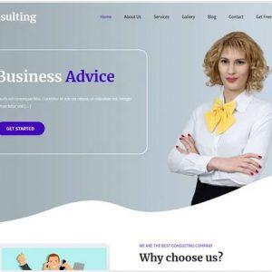 SKT Consulting Free WordPress Theme