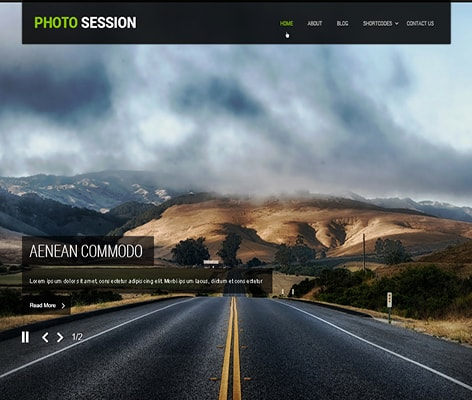 SKT Photo Session Free WordPress Theme