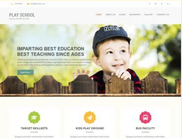 SKT Play School education Free WordPress theme