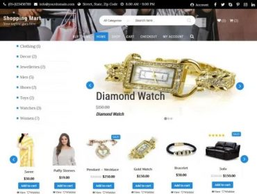 Shopping Mart Free WordPress Themes