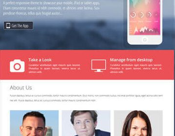 The App Lite Free WordPress Theme