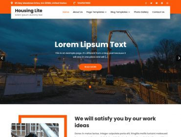 Housing Lite WordPress theme