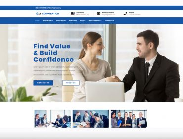 LT Corporation WordPress theme