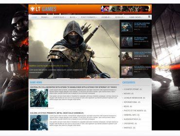 LT Games WordPress theme
