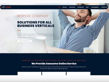 LT Loan WordPress theme