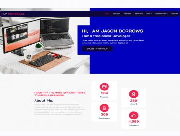 LT Personal WordPress theme