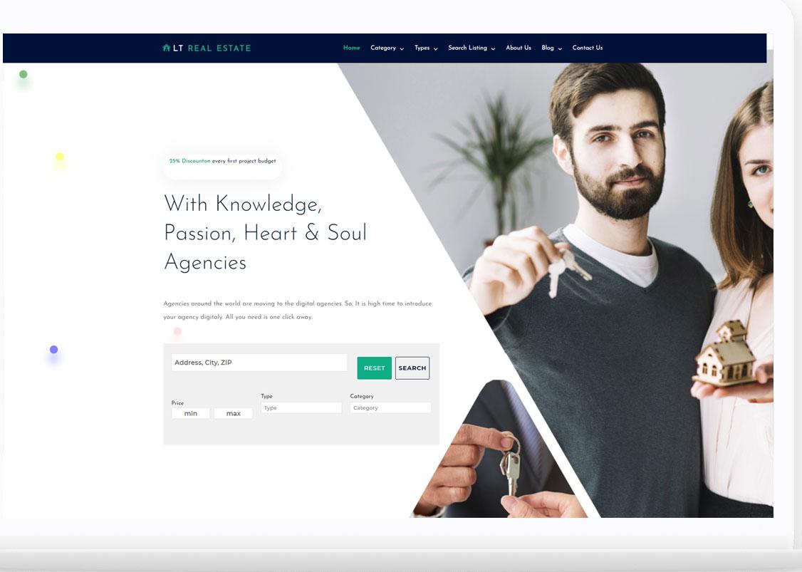 This website WordPress theme