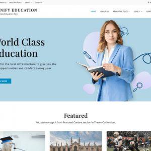 Signify Education WordPress theme