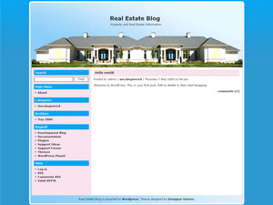 Uniquely Real Estate WordPress Theme